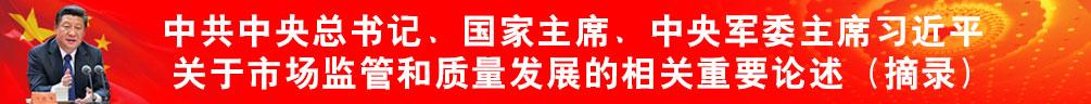 中共中央总书记、国家主席、中央军委主席习近平关于市场监管和质量发展的重要论述摘编