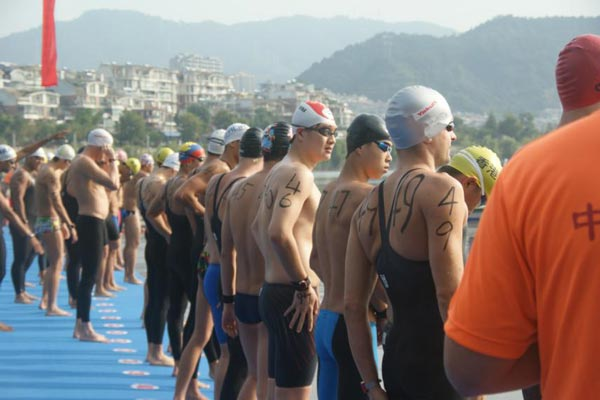 """""""水上嘉年华""""风暴来袭!浩沙/国际泳联10km马拉松游泳世界杯登陆千岛湖"""